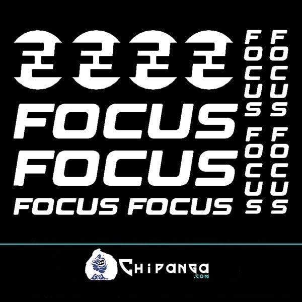 Pegatinas Focus n