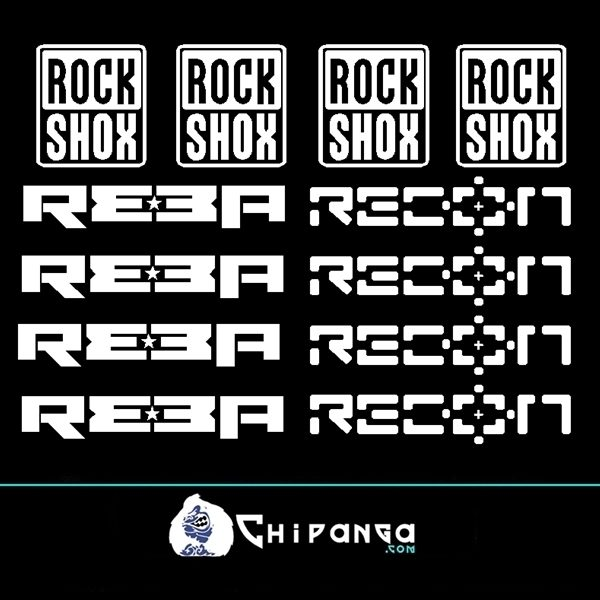 Pegatinas Rockshox Reba Recon n