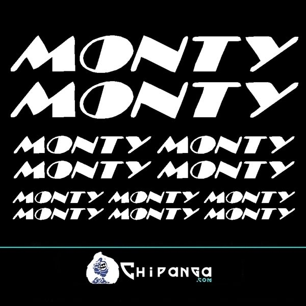 Pegatinas Monty n