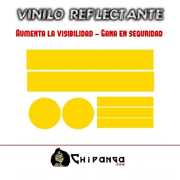 Vinilo Amarillo Reflectante