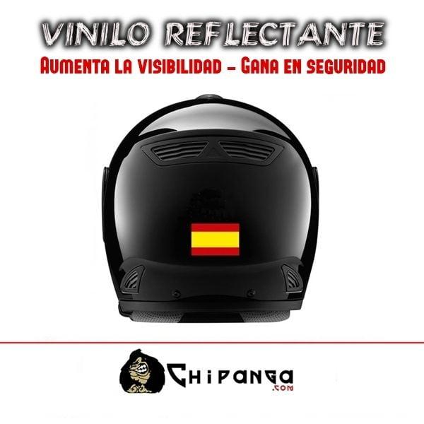 Pegatina Bandera España Reflectante C