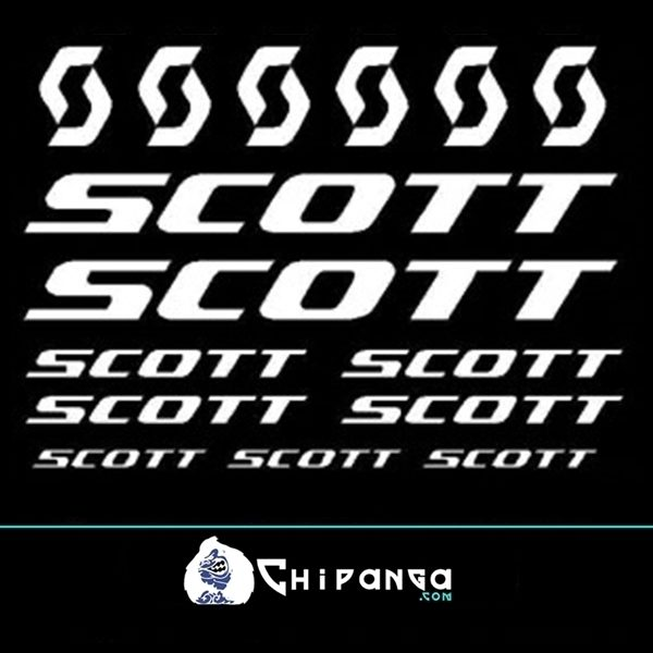 Pegatinas Scott 4 n