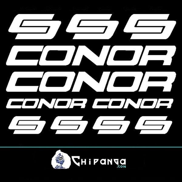 Pegatinas Conor N