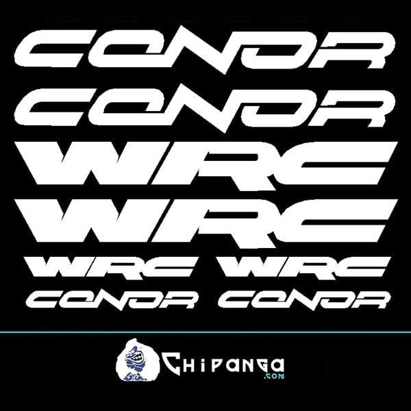 Pegatinas Conor WRC N