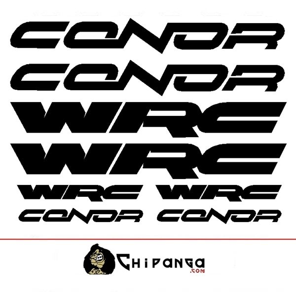 Pegatinas Conor WRC