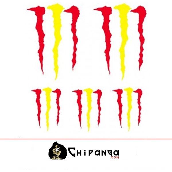 Pegatinas Monster España