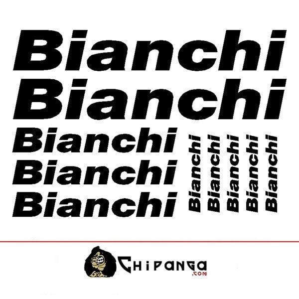 Kit Pegatinas Bianchi