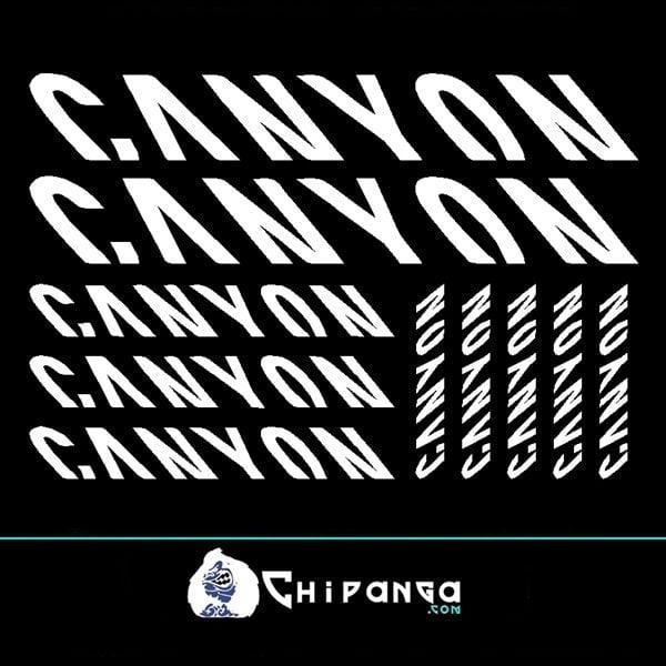 Pegatinas Canyon