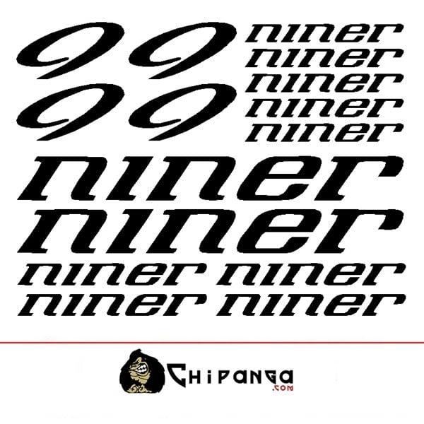 Pegatinas Niner