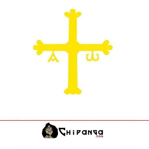 Pegatina Cruz Asturias