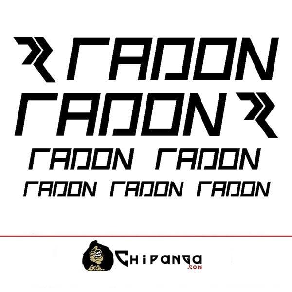 Pegatinas Radon