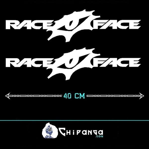 Pegatinas cuadro Race Face
