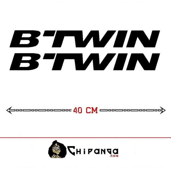 Pegatinas Btwin Cuadro