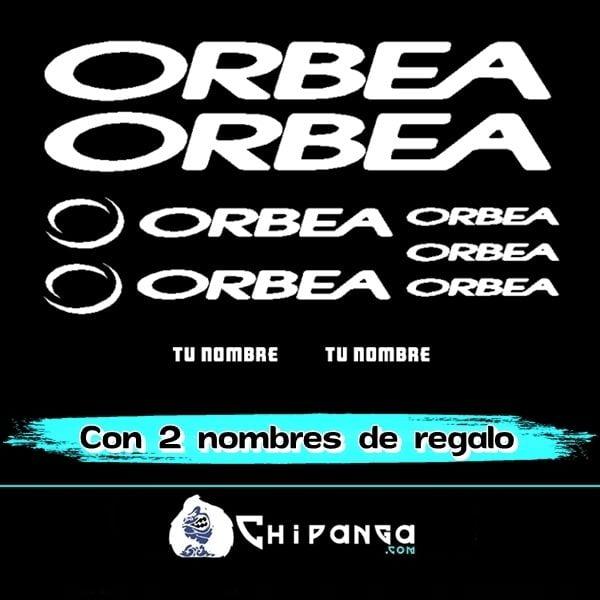 Kit Pegatinas Orbea con nombre n