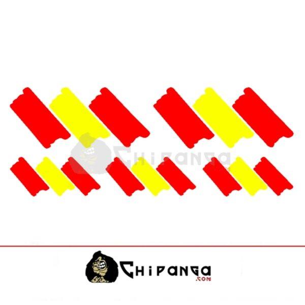 Pegatinas Bandera España 5