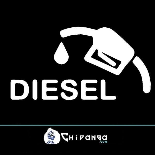 Pegatina Diesel Manguera n