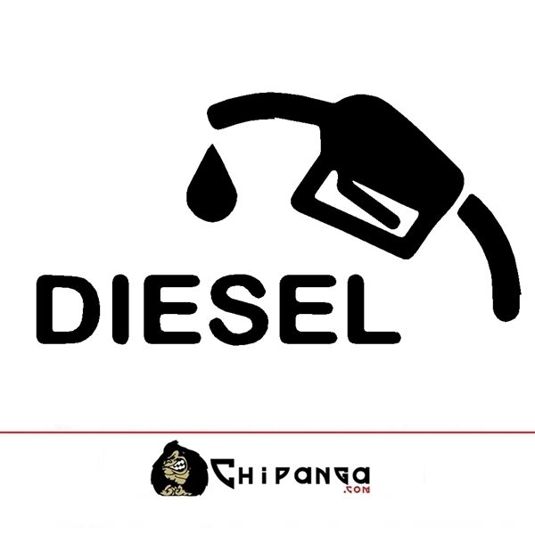 Pegatina Diesel Manguera