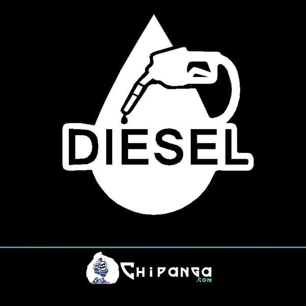 Pegatina Diesel Manguera gota n