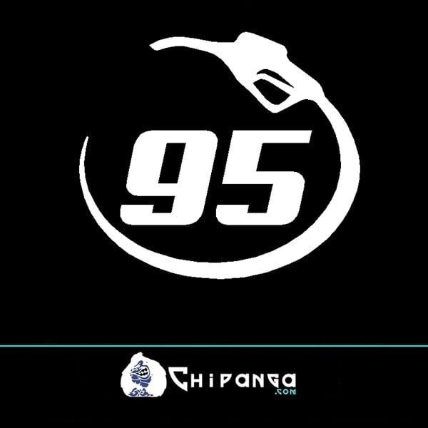 Pegatina Gasolina Sin Plomo 95 n