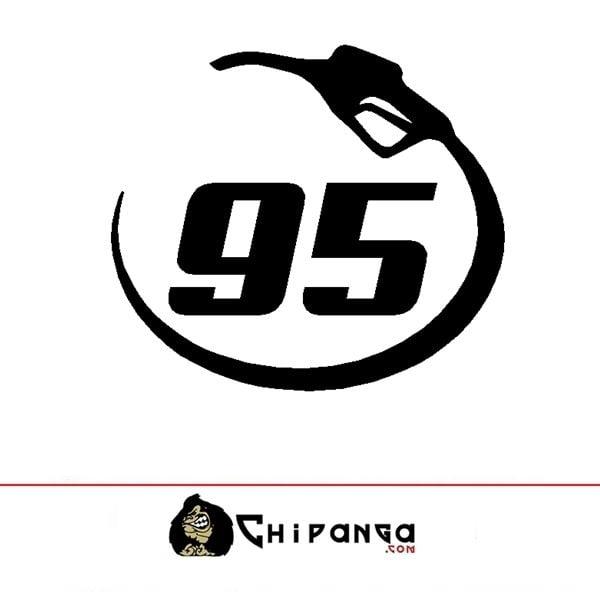 Pegatina Gasolina Sin Plomo 95
