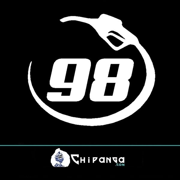 Pegatina Gasolina Sin Plomo 98 n