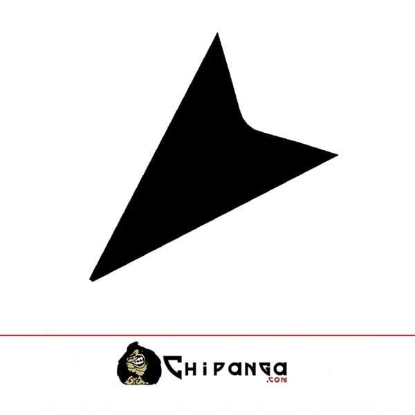 Pegatina flecha gancho 2