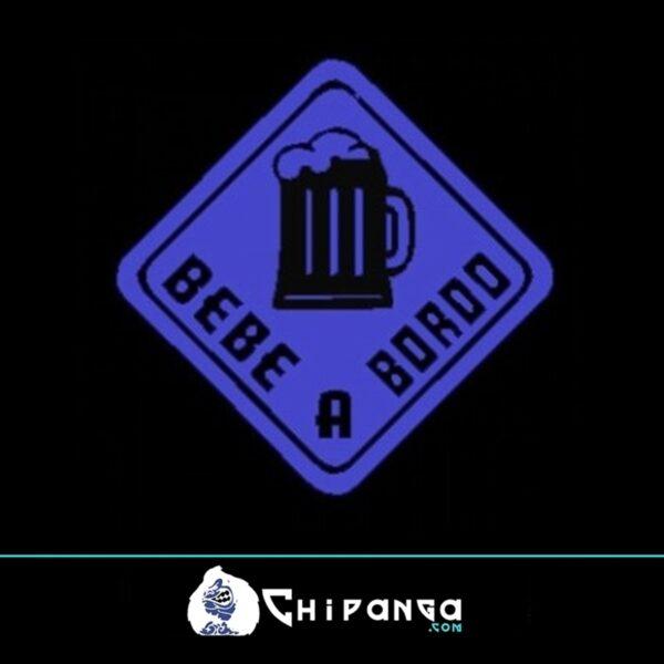 Bebe cerveza a bordo n