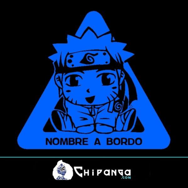 Pegatina a bordo Naruto n