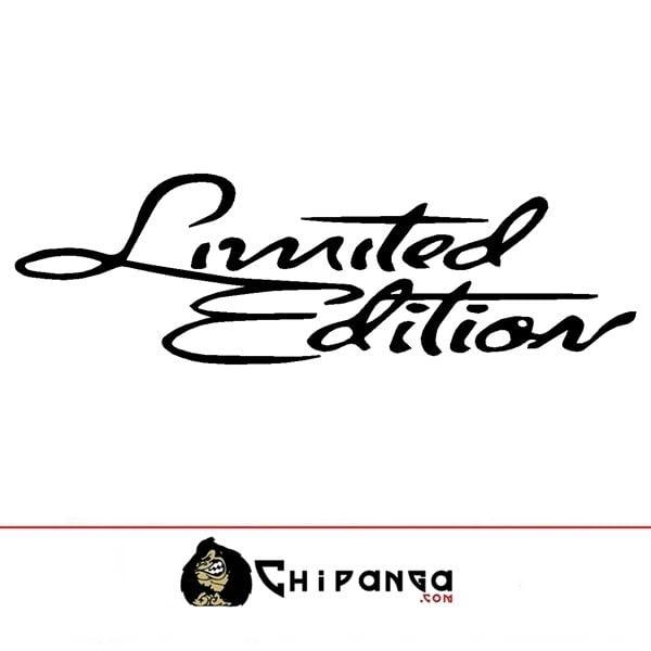 Pegatina Limited Edition 15 Cm .