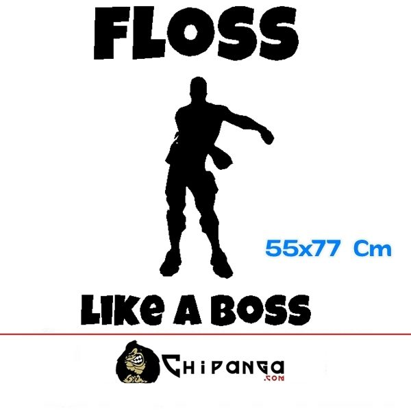 Vinilo Decorativo Fortnite Floss Like a Boss